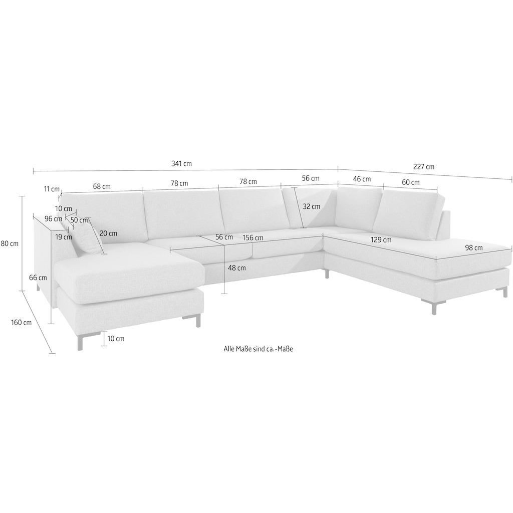 andas Wohnlandschaft »Kolding«, hoher Sitzkomfort, mit Federkern