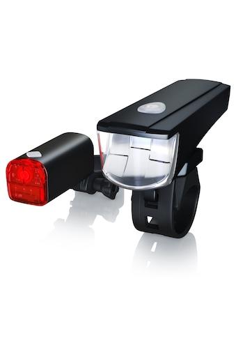 Aplic StVZO zugelassenes LED Fahrradlampen Set »Front + Rücklicht / Helle LED mit 20 Lux« kaufen