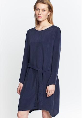 seidensticker Sommerkleid »Schwarze Rose«, Langarm Rundhals Uni kaufen