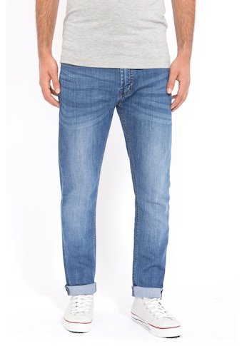 Way of Glory 5-Pocket-Jeans »»Justin««, mit Sitzfalten kaufen