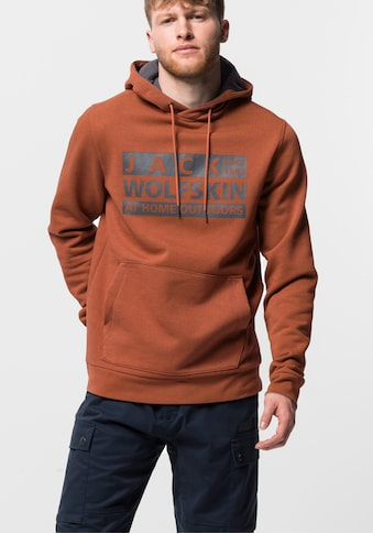 Jack Wolfskin Kapuzensweatjacke »BRAND HOODY M« kaufen