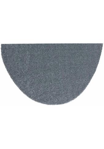 HANSE Home Fußmatte »Deko Soft«, halbrund, 7 mm Höhe, Fussabstreifer, Fussabtreter, Schmutzfangläufer, Schmutzfangmatte, Schmutzfangteppich, Schmutzmatte, Türmatte, Türvorleger, saugfähig, waschbar kaufen