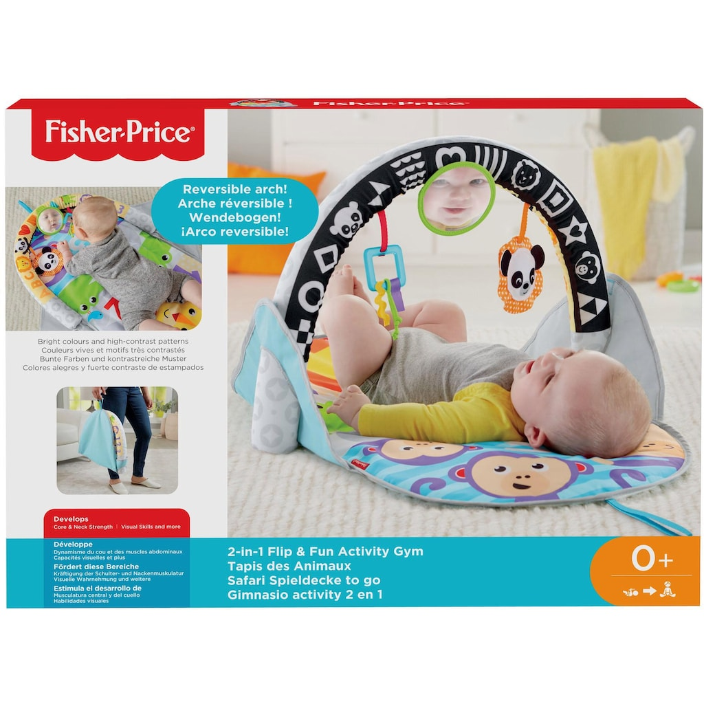 Fisher-Price® Baby Gym »Safari Spieldecke to go«