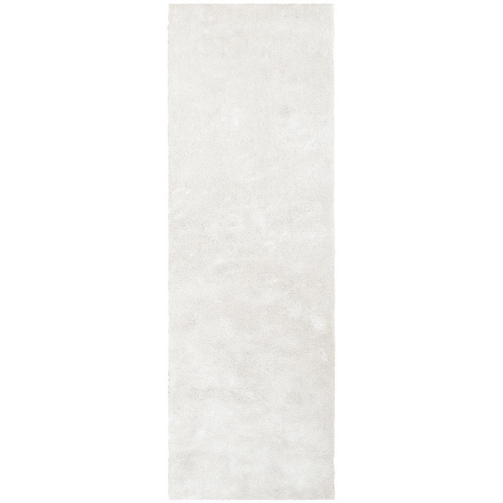 Bruno Banani Hochflor-Läufer »Dana«, rechteckig, 30 mm Höhe, besonders weich durch Microfaser