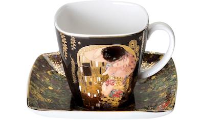 Goebel Espressotasse »Der Kuss«, schwarz kaufen