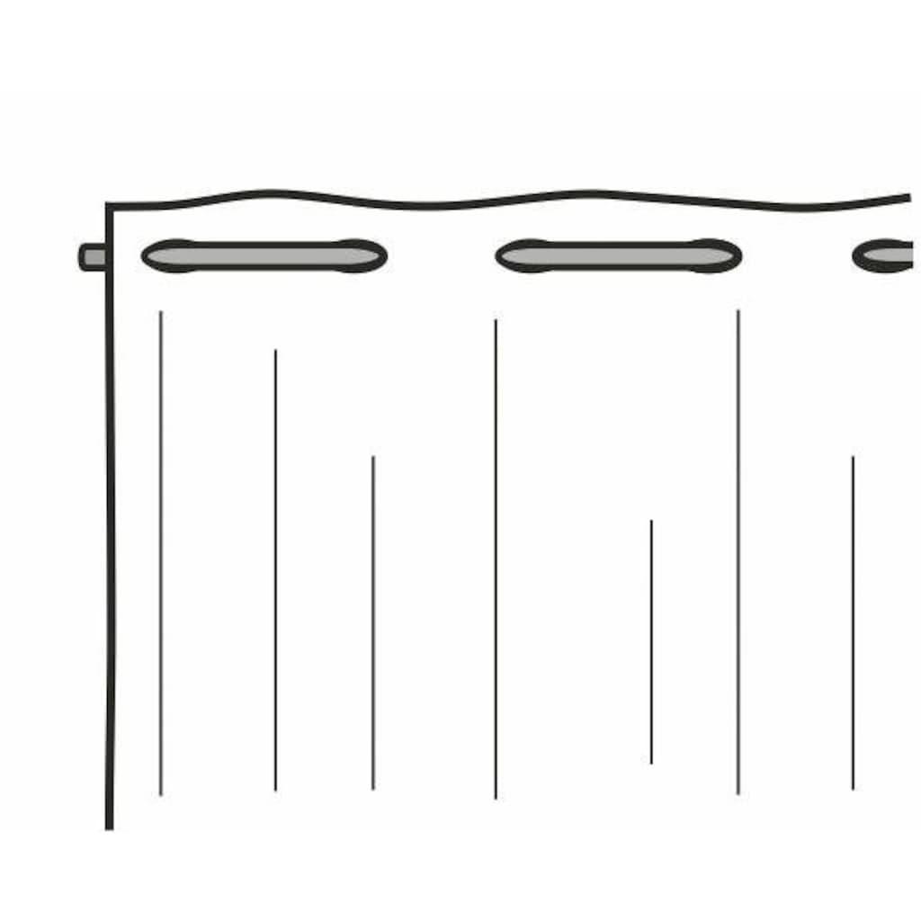 WILLKOMMEN ZUHAUSE by ALBANI GROUP Panneaux »Lama«, Jacquard-Lamellen-Pannaux