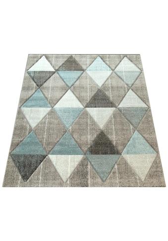 Paco Home Teppich »Lara 234«, rechteckig, 18 mm Höhe, Wohnzimmer-Teppich in schönen Pastell-Farben, Wohnzimmer kaufen