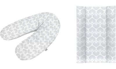 Rotho Babydesign Wickelauflage »Seashell Shape«, in Keilform; inklusive Stillkissen... kaufen