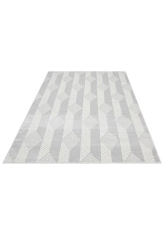 andas Teppich »Germer«, rechteckig, 11 mm Höhe, modernes Design, Wohnzimmer kaufen