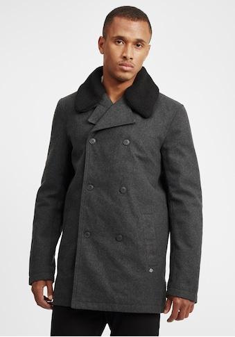 Solid Wollmantel »Pinto«, Mantel mit doppelter Knopfleiste kaufen