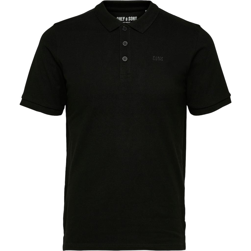 ONLY & SONS Poloshirt »SCOTT PIQUE POLO«