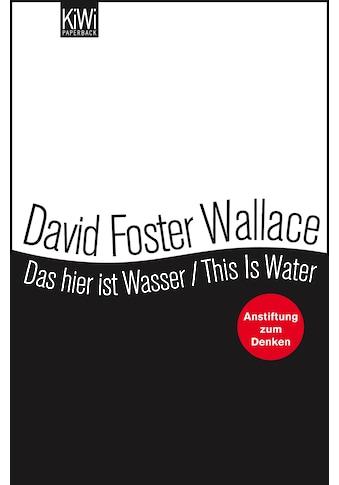 Buch »Das hier ist Wasser / This is Water / David Foster Wallace, Ulrich Blumenbach« kaufen