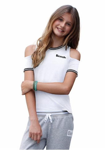 Bench. T-Shirt, mit coolen Cut-Outs kaufen