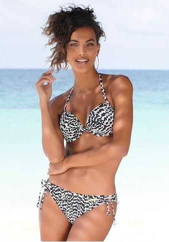 LASCANA Bikini-Hose »Clara«, mit abstraktem Animalprint kaufen