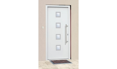 KM Zaun Haustür »A05«, BxH: 98x198 cm, weiß, in 2 Varianten kaufen