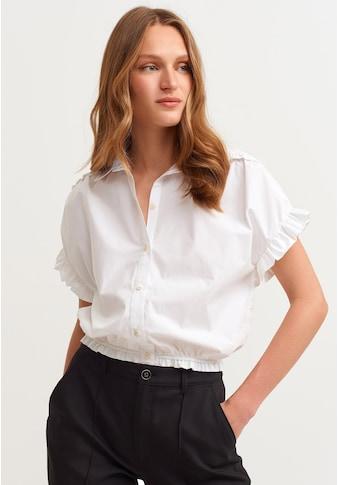 OXXO Hemdbluse, mit Volant Details kaufen