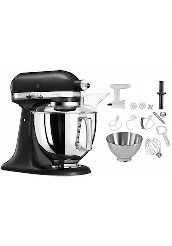 KitchenAid Küchenmaschine »5KSM175PSEBK Artisan«, 300 W, 4,8 l Schüssel, inkl.... kaufen