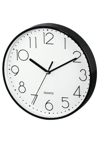"""Hama Wanduhr """"PG - 220"""", geräuscharm, Schwarz »Uhr« kaufen"""