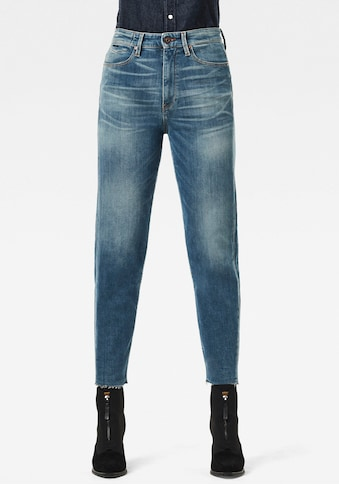 G-Star RAW Straight-Jeans »Janeh Ultra High Mom Ankle C Jeans«, im 5-Pocket-Design mit verdeckter Münztasche am Bund kaufen