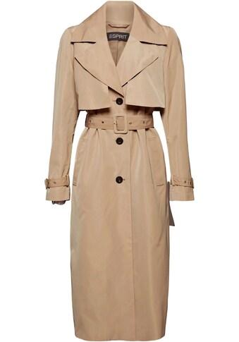 Esprit Collection Trenchcoat, im klassischen Stil kaufen