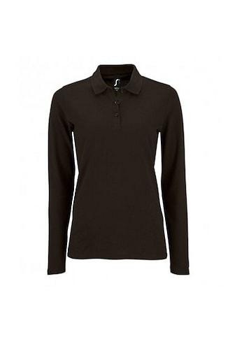 SOLS Poloshirt »Damen Pique - Polo - Shirt, langärmlig« kaufen