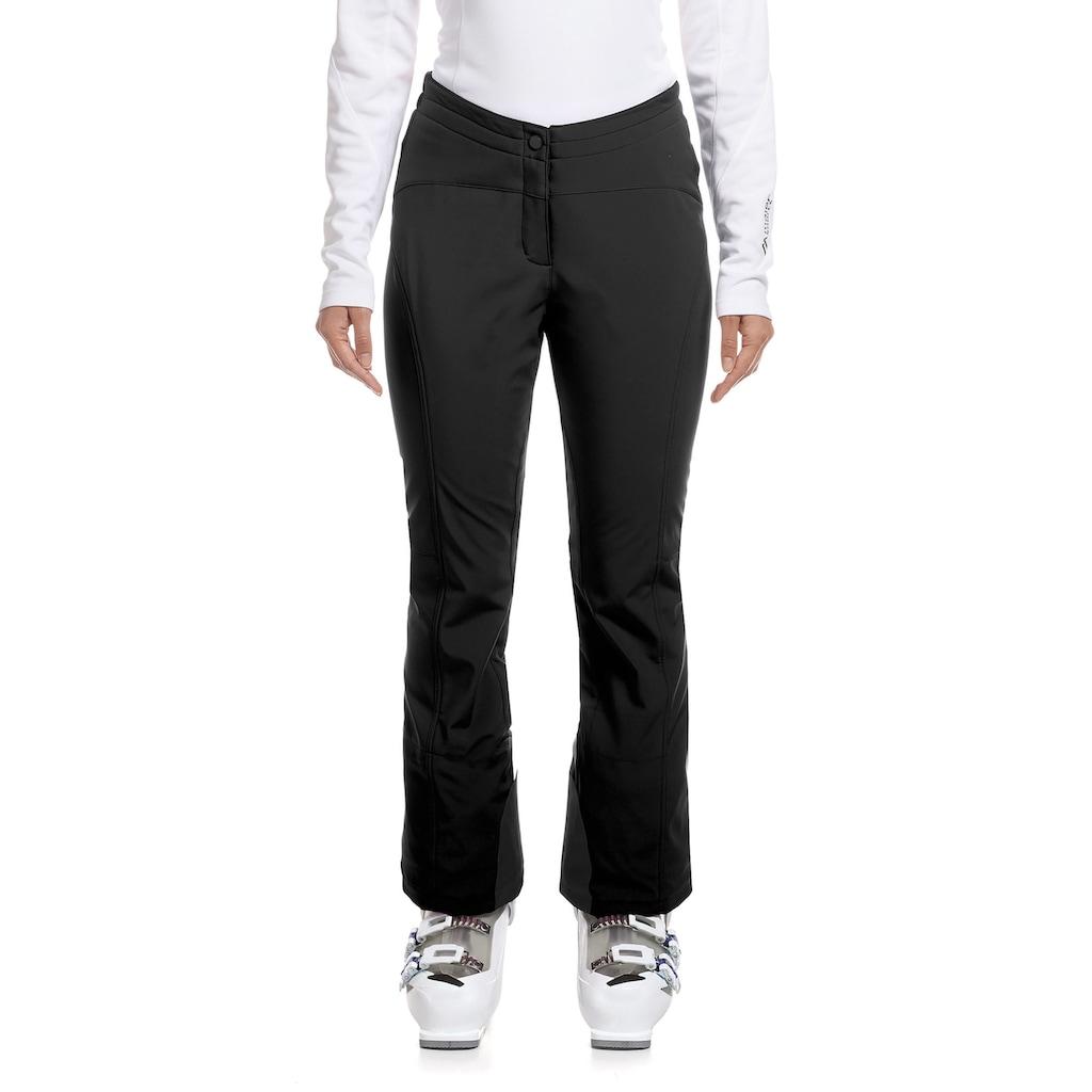 Maier Sports Softshellhose »Danusa«, Sportlich geschnittene Skihose
