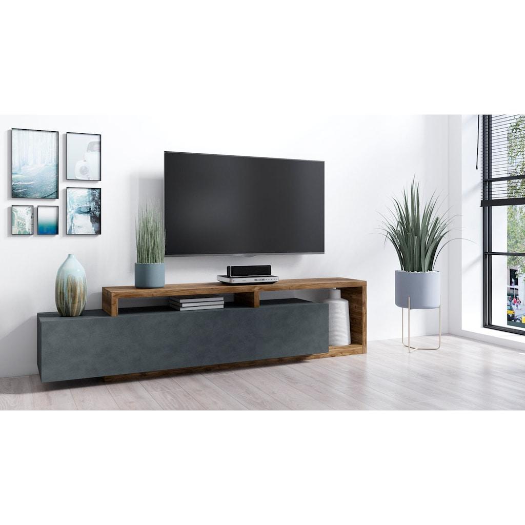 TRENDMANUFAKTUR Lowboard »Bota«, Breite 219 cm