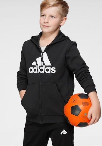 adidas Performance Kapuzensweatjacke »BOYS MUST HAVE BATCH OF SPORT FULLZIP FLEECE« kaufen