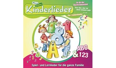 Musik-CD »Meine Ersten Kinderlieder-Abc & 123 / KINDERLIEDERBANDE« kaufen