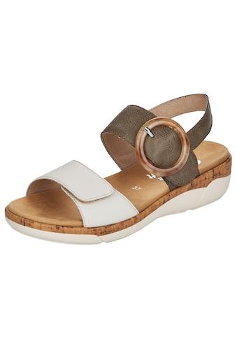 Remonte Sandale, mit auffälliger Schnalle kaufen
