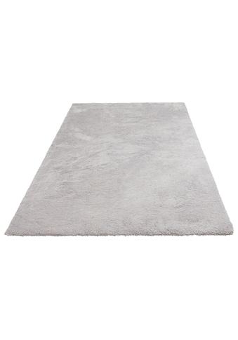 my home Hochflor-Teppich »Magong«, rechteckig, 25 mm Höhe, besonders weich durch Microfaser, Wohnzimmer kaufen