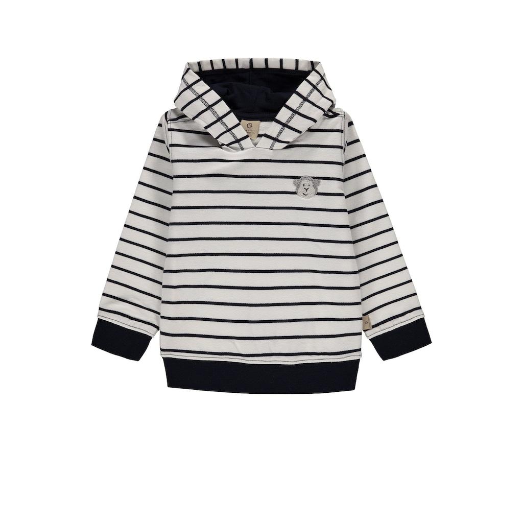 Bellybutton Sweatshirt, Sweatshirt gestreift m. Kapuze