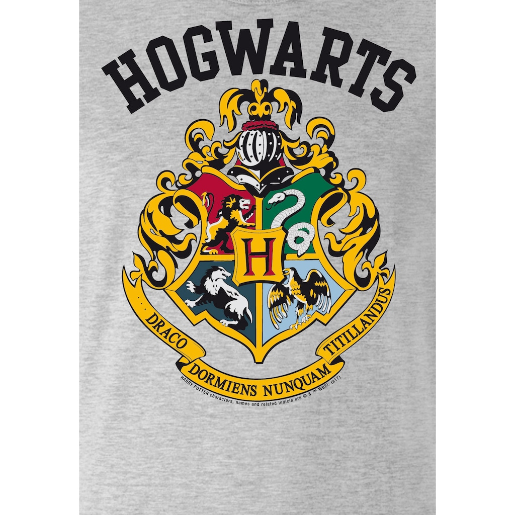 LOGOSHIRT T-Shirt »Hogwarts«, mit lässigem Frontprint