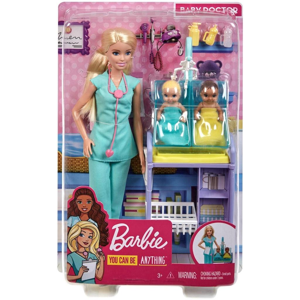 Barbie Anziehpuppe »Kinderärztin, blond«