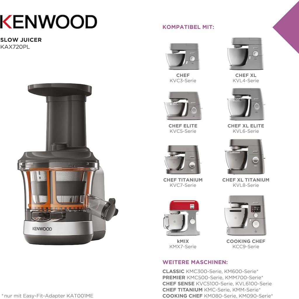 KENWOOD Slow Juicer Aufsatz »KAX720PL«