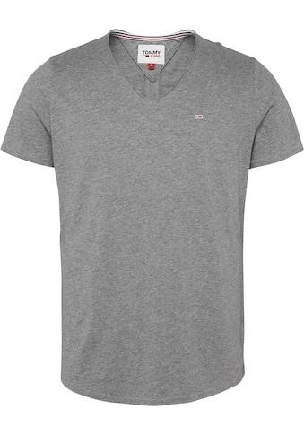 TOMMY JEANS T - Shirt »TJM VNECK JASPE TEE« kaufen