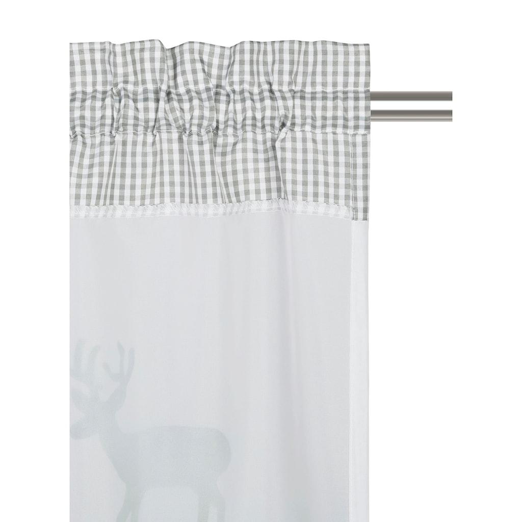 my home Scheibengardine »Elk«, Airbrush