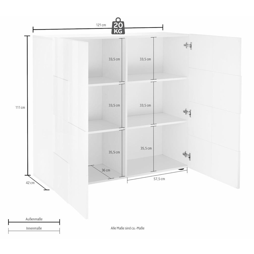 LC Highboard »Dama«, Breite 121 cm