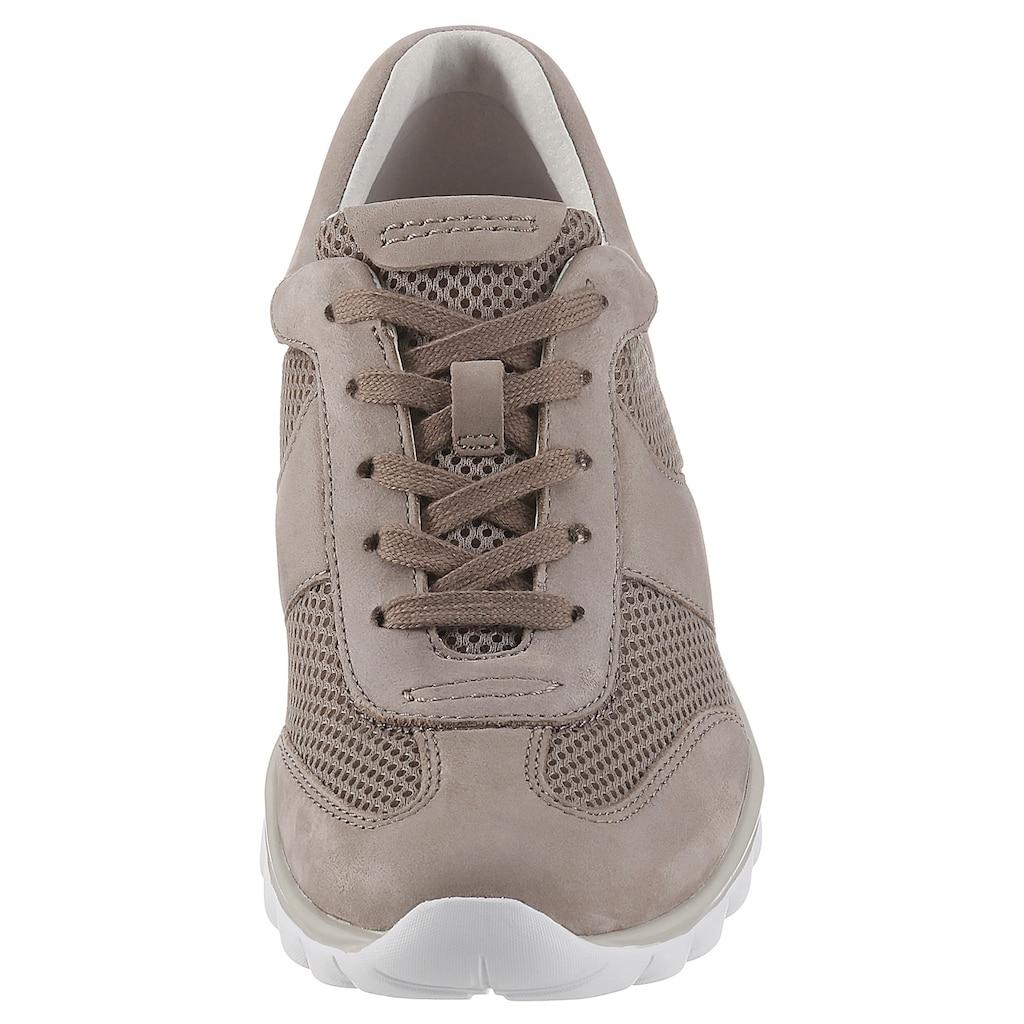 Gabor Rollingsoft Keilsneaker, mit trendigem Mesheinsatz
