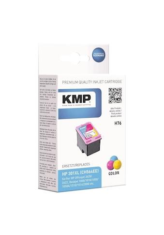 KMP Tintenpatrone ersetzt HP Nr. 301XL cyan, magenta, gelb kaufen