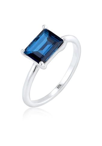 Elli Fingerring »Solitär Swarovski® Kristalle 925 Sterling Silber« kaufen