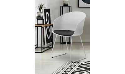 andas Schalenstuhl »Mara«, in verschiedenen Farbvarianten, Sitzhöhe 47 cm kaufen