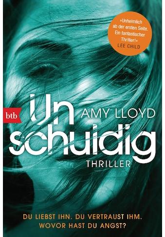Buch »Unschuldig / Amy Lloyd, Cornelia Röser« kaufen