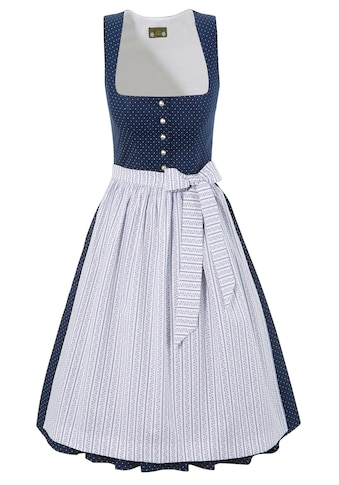 Love Nature Dirndl, (2 tlg.), midi mit Punktemuster - Made in Austria kaufen