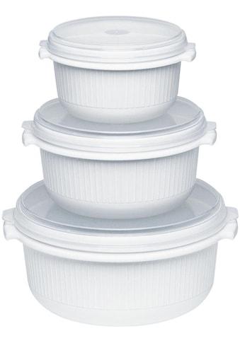 Emsa Mikrowellenbehälter »Micor Family«, (Set, 3 tlg.), 0,5, 1,0, 1,5 Liter kaufen