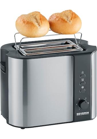 Severin Toaster »AT 2589«, 2 kurze Schlitze, für 2 Scheiben, 800 W kaufen