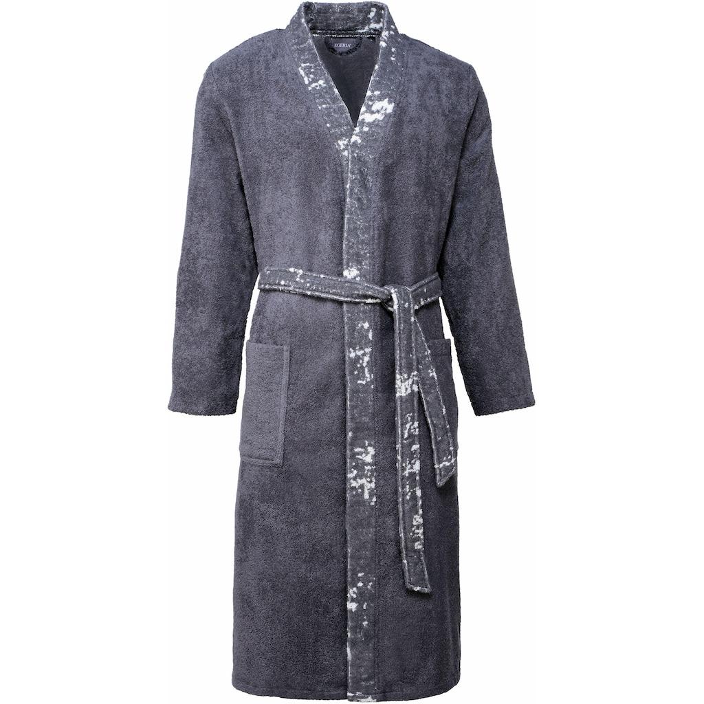 Egeria Herrenbademantel »Remo«, mit Kimonokragen