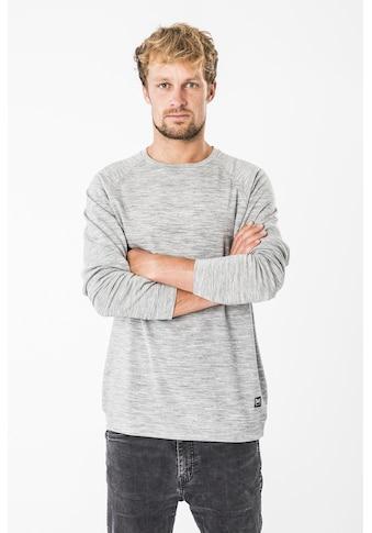 SUPER.NATURAL Sweatshirt »M ESSENTIAL RAGLAN CREW«, perfekter Merino-Materialmix kaufen