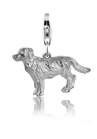 Nenalina Charm-Einhänger »Hund Dog Anhänger Golden Retriever 925 Silber« kaufen