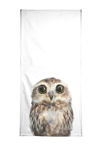 """Strandtuch """"Little Owl"""", Juniqe kaufen"""